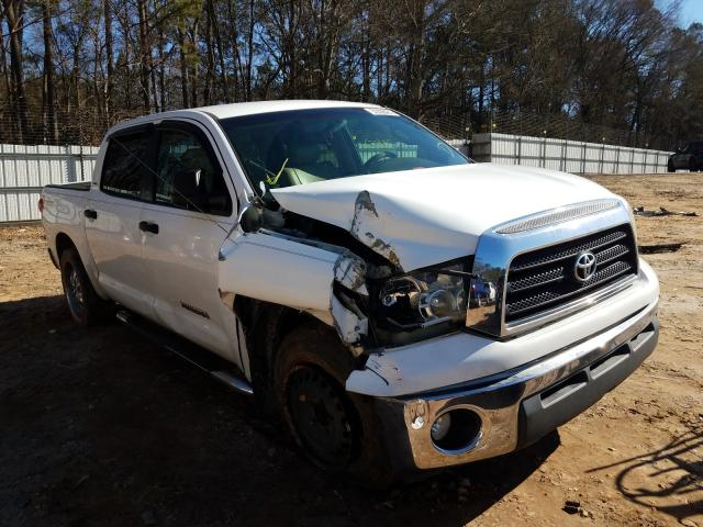Salvage cars for sale from Copart Austell, GA: 2007 Toyota Tundra CRE