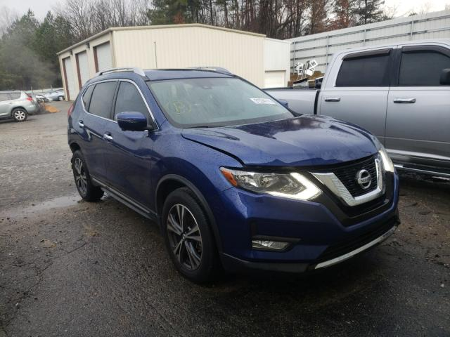 Salvage cars for sale from Copart Gainesville, GA: 2017 Nissan Rogue S