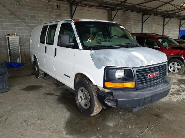 GMC Savana G35 salvage cars for sale: 2003 GMC Savana G35