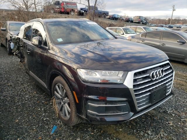 Salvage cars for sale from Copart Baltimore, MD: 2019 Audi Q7 Premium