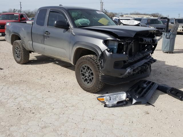 Salvage cars for sale from Copart San Antonio, TX: 2021 Toyota Tacoma ACC