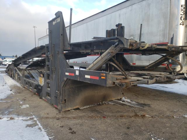 Salvage cars for sale from Copart Woodhaven, MI: 2012 Cottrell Car Hauler