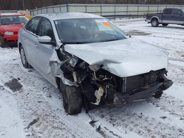 Salvage cars for sale from Copart Ellwood City, PA: 2015 Volkswagen Passat S