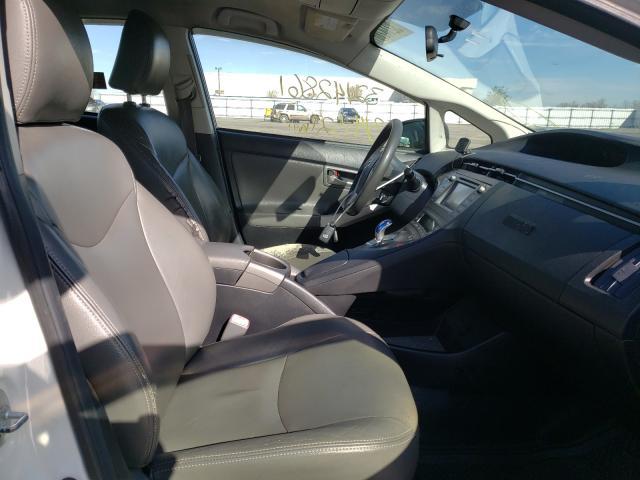 пригнать из сша 2012 Toyota Prius 1.8L JTDKN3DU5C5439002