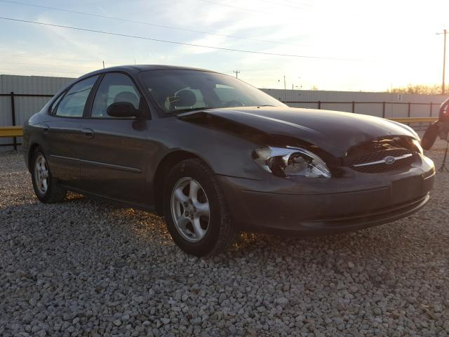 Salvage cars for sale from Copart San Antonio, TX: 2003 Ford Taurus SE