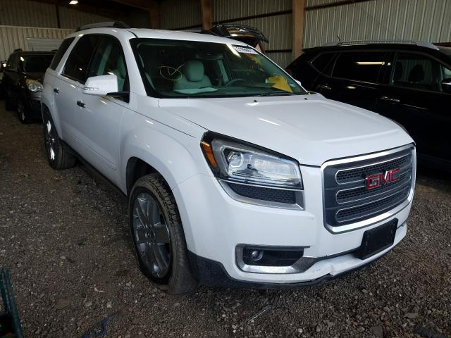 Salvage cars for sale from Copart Houston, TX: 2017 GMC Acadia LIM