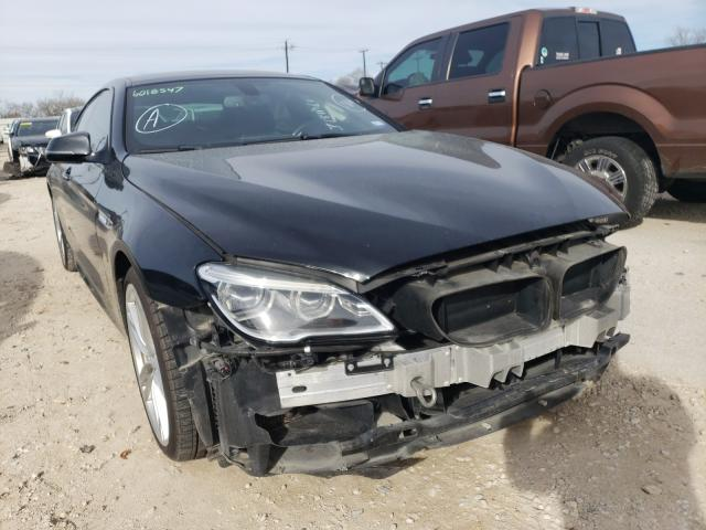 Salvage cars for sale from Copart San Antonio, TX: 2016 BMW 640 I Gran