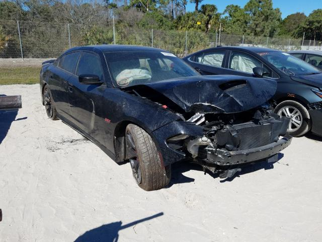 Salvage cars for sale from Copart Fort Pierce, FL: 2017 Dodge Charger R