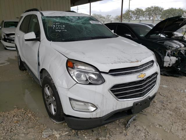 Salvage cars for sale from Copart Homestead, FL: 2017 Chevrolet Equinox LT