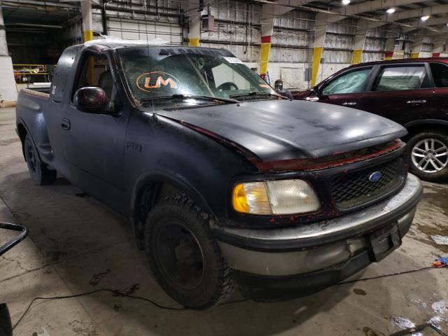 Salvage cars for sale from Copart Woodburn, OR: 1997 Ford F150