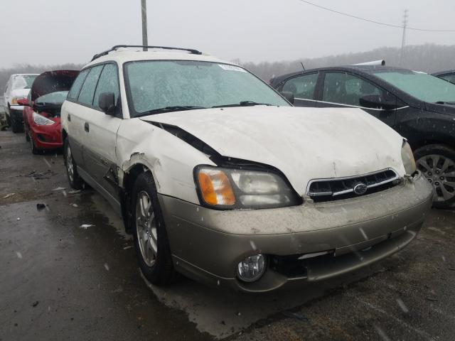 Salvage cars for sale from Copart Lawrenceburg, KY: 2002 Subaru Legacy Outback