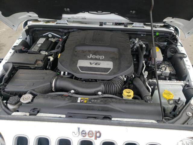 1C4BJWEG9JL849560 2018 Jeep Wrangler U 3.6L
