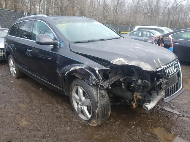 Salvage cars for sale from Copart Waldorf, MD: 2015 Audi Q7