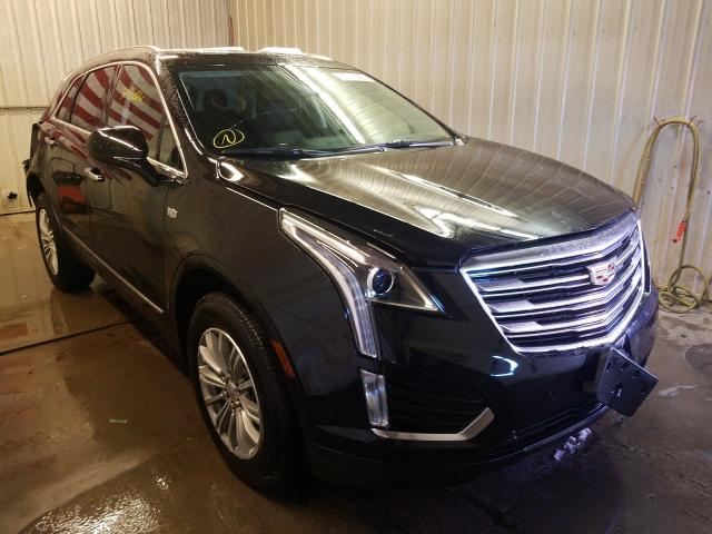 Salvage cars for sale from Copart Avon, MN: 2019 Cadillac XT5 Luxury