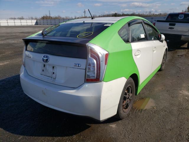 цена в сша 2012 Toyota Prius 1.8L JTDKN3DU5C5439002