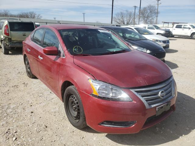 Salvage cars for sale from Copart San Antonio, TX: 2014 Nissan Sentra S
