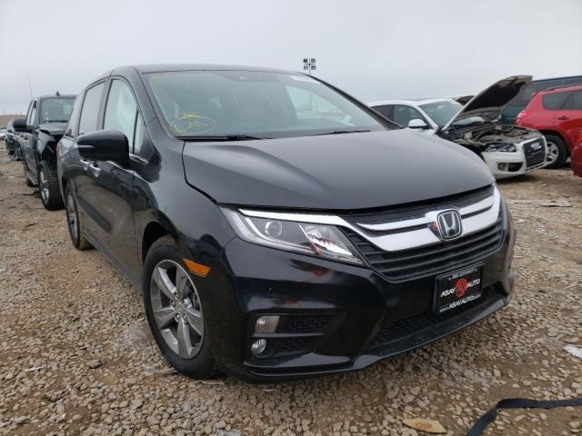 Salvage cars for sale from Copart Magna, UT: 2018 Honda Odyssey EX
