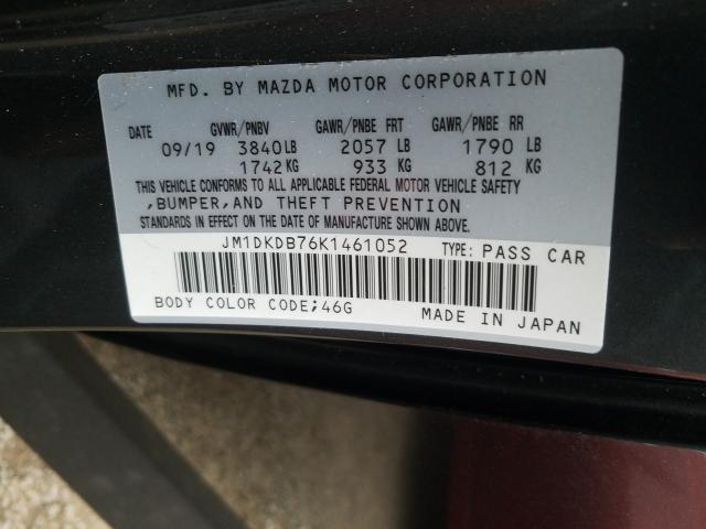 JM1DKDB76K1461052 2019 Mazda Cx-3 Sport 2.0L