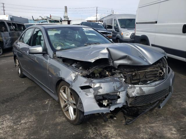 Vehiculos salvage en venta de Copart Wilmington, CA: 2012 Mercedes-Benz C 250