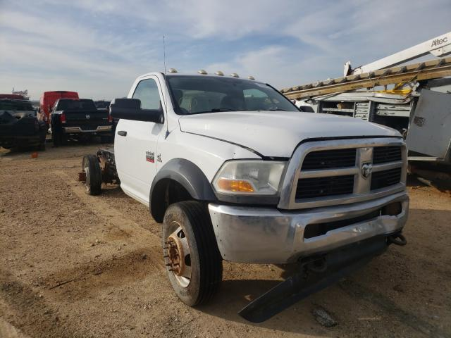 Salvage cars for sale from Copart San Antonio, TX: 2012 Dodge RAM 5500 S