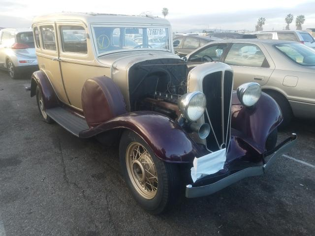 Studebaker salvage cars for sale: 1933 Studebaker Coupe