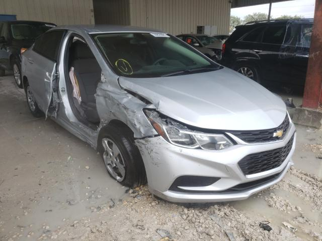 Salvage cars for sale from Copart Homestead, FL: 2017 Chevrolet Cruze LS