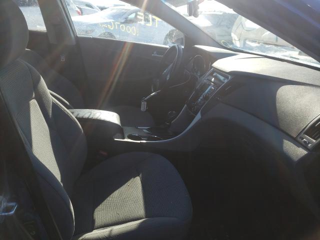 2011 HYUNDAI SONATA GLS - Left Rear View