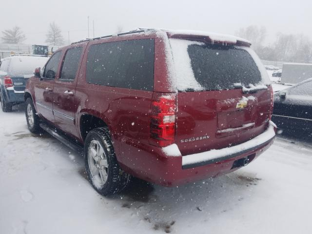 2011 CHEVROLET SUBURBAN K - Right Front View