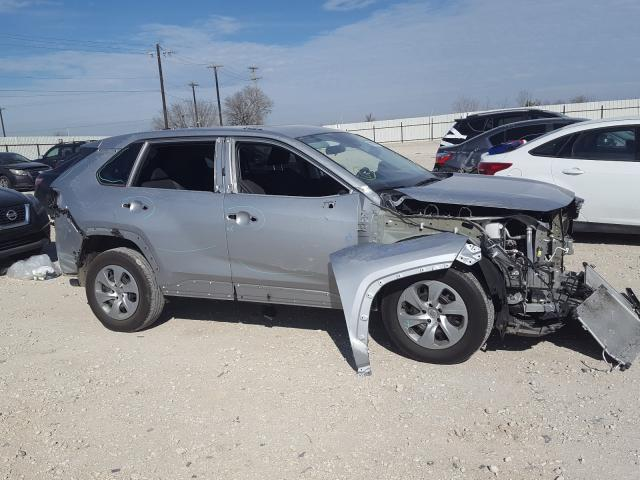 Salvage cars for sale from Copart San Antonio, TX: 2019 Toyota Rav4 LE