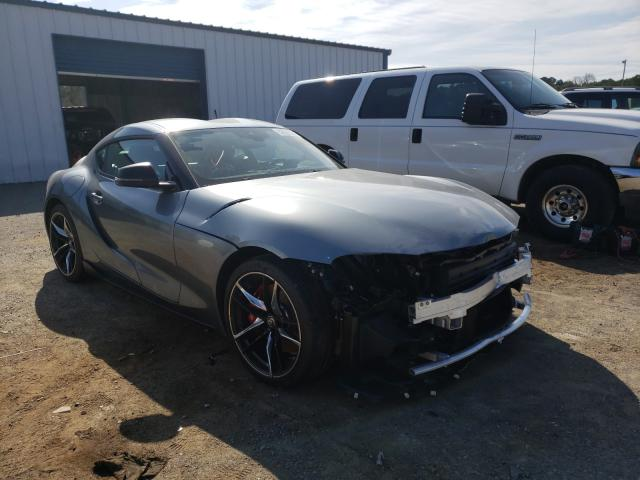 Salvage cars for sale from Copart Shreveport, LA: 2021 Toyota Supra Base