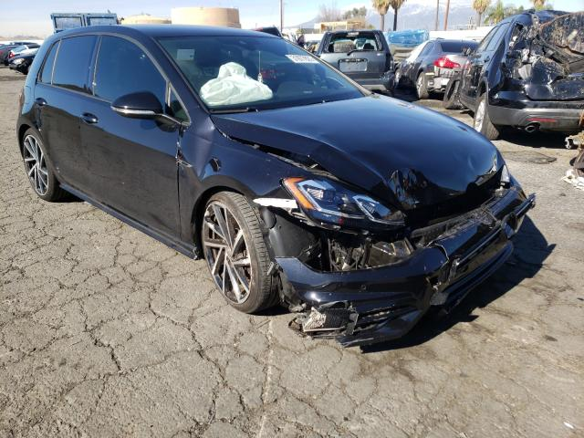 Salvage cars for sale from Copart Colton, CA: 2018 Volkswagen Golf R