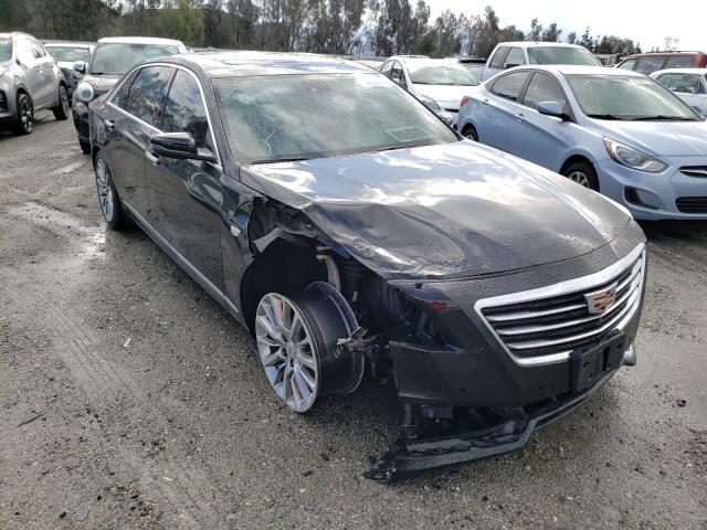 Salvage cars for sale from Copart Rancho Cucamonga, CA: 2017 Cadillac CT6 Luxury