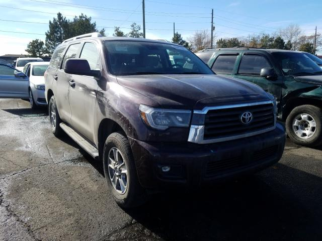 Salvage cars for sale from Copart Denver, CO: 2019 Toyota Sequoia SR