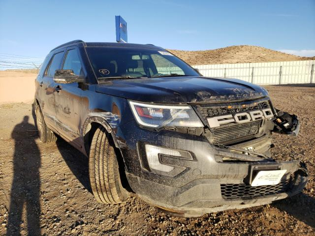Salvage cars for sale from Copart Albuquerque, NM: 2016 Ford Explorer S