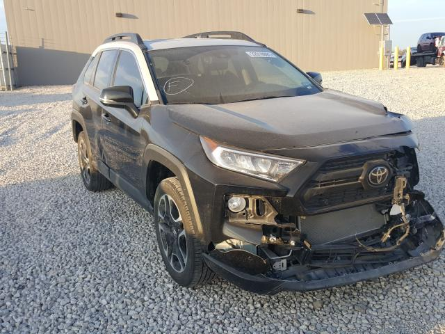 Salvage cars for sale from Copart San Antonio, TX: 2019 Toyota Rav4 Adven