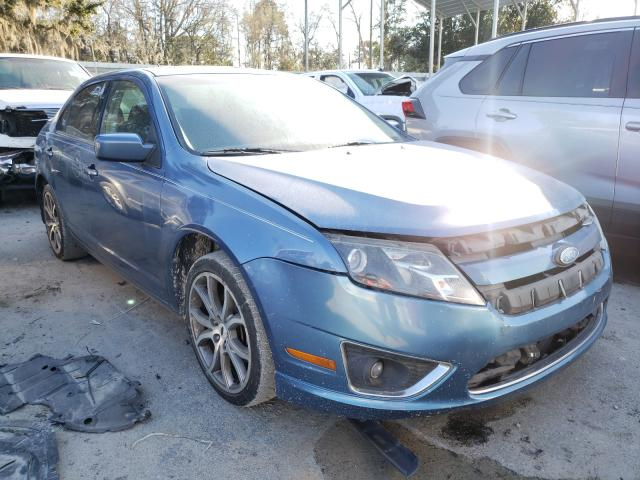 Salvage 2010 FORD FUSION - Small image. Lot 32239471