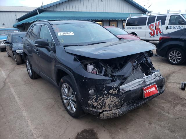 Salvage cars for sale from Copart Pekin, IL: 2019 Toyota Rav4 XLE P