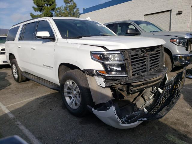 Salvage cars for sale from Copart Rancho Cucamonga, CA: 2020 Chevrolet Suburban C