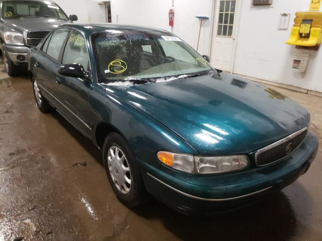 Salvage cars for sale from Copart Davison, MI: 1998 Buick Century CU