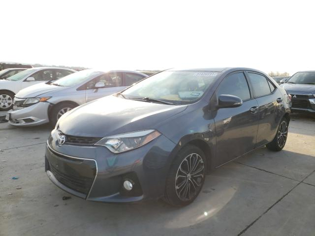 2015 TOYOTA COROLLA L - Left Front View