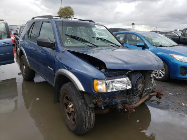 Isuzu Rodeo salvage cars for sale: 2002 Isuzu Rodeo