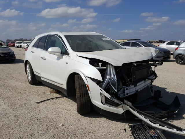 Salvage cars for sale from Copart San Antonio, TX: 2019 Cadillac XT5 Premium