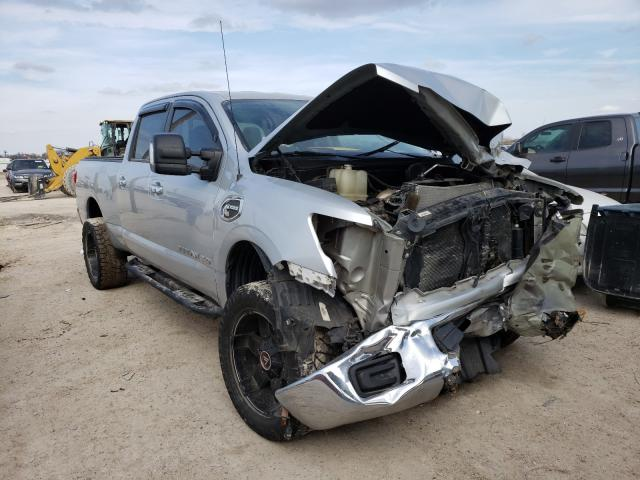 Salvage cars for sale from Copart Temple, TX: 2017 Nissan Titan XD S
