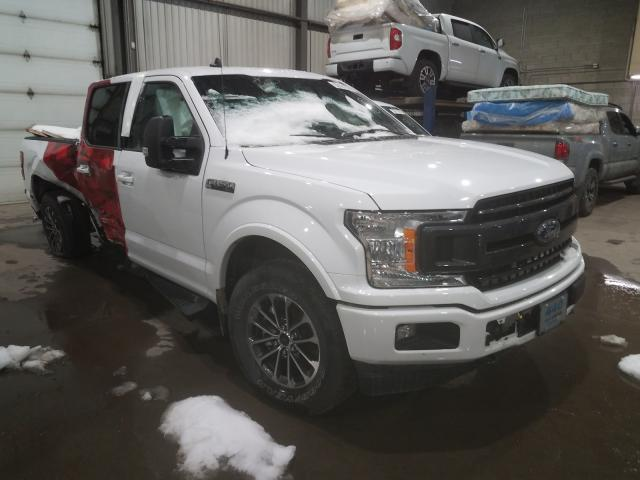 Salvage cars for sale from Copart Montreal Est, QC: 2020 Ford F150 Super