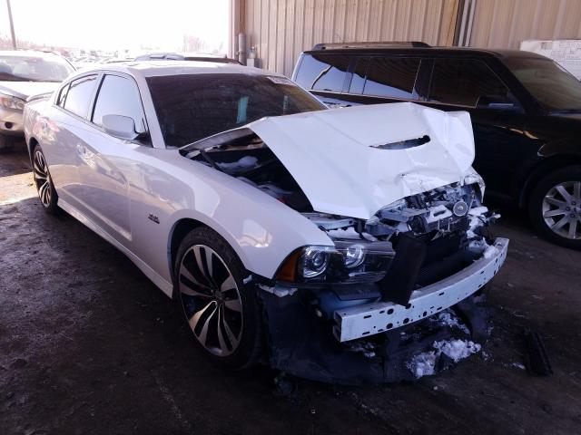 Salvage cars for sale from Copart Fort Wayne, IN: 2014 Dodge Charger SR