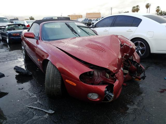 Salvage cars for sale from Copart Colton, CA: 2004 Jaguar XKR