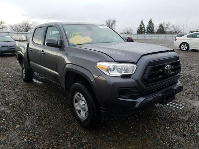 Salvage cars for sale from Copart Sacramento, CA: 2020 Toyota Tacoma DOU