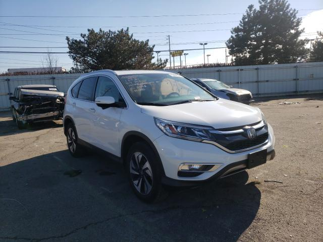 Honda CRV salvage cars for sale: 2015 Honda CRV