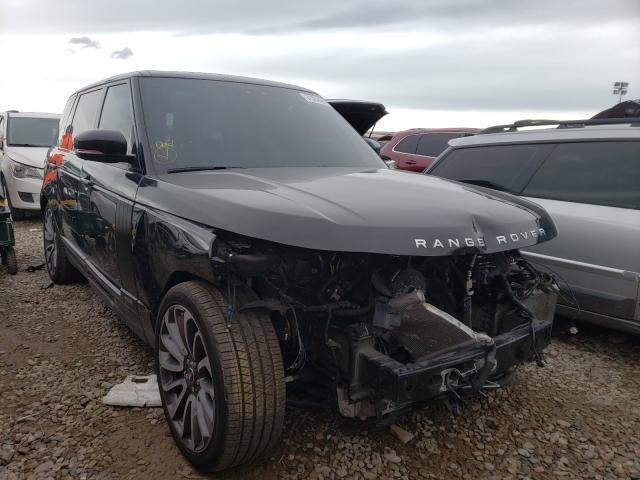Salvage cars for sale from Copart Magna, UT: 2018 Land Rover Range Rover