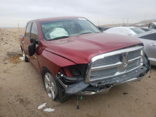 Salvage cars for sale from Copart Albuquerque, NM: 2012 Dodge RAM 1500 S